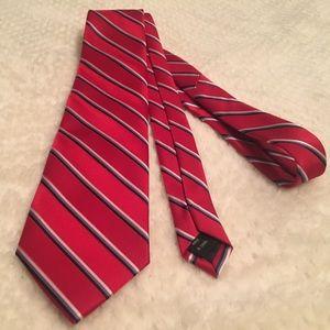 Red Izod Necktie